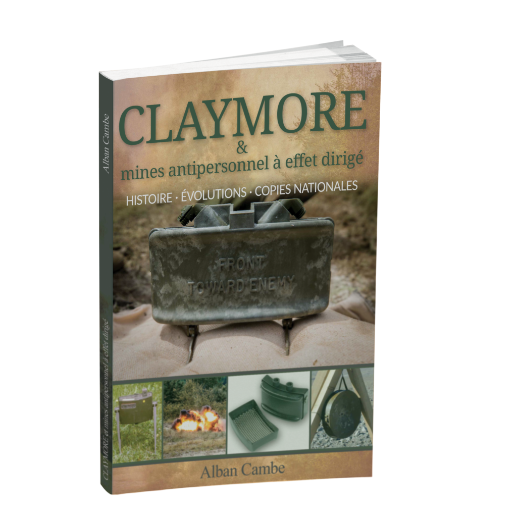 Claymore mine book livre m18 m18a1