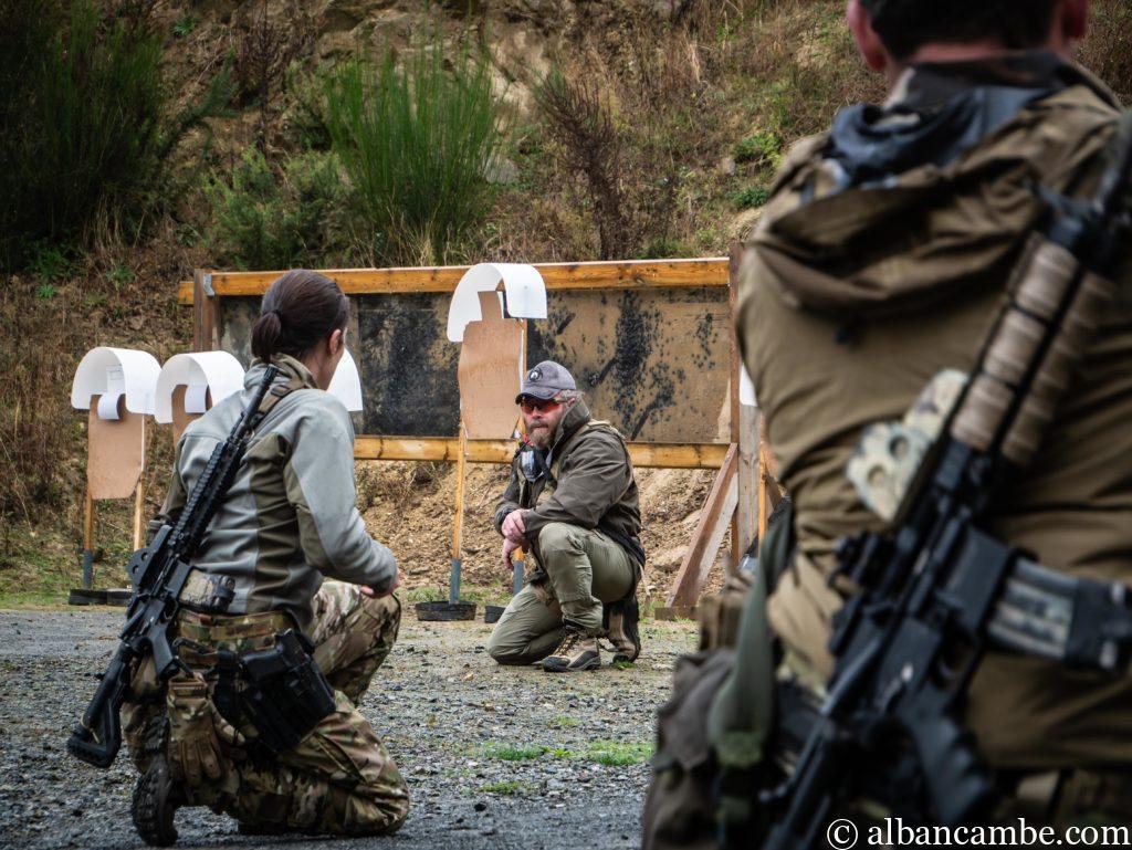 Forces spéciales françaises et Instructor Zero.
