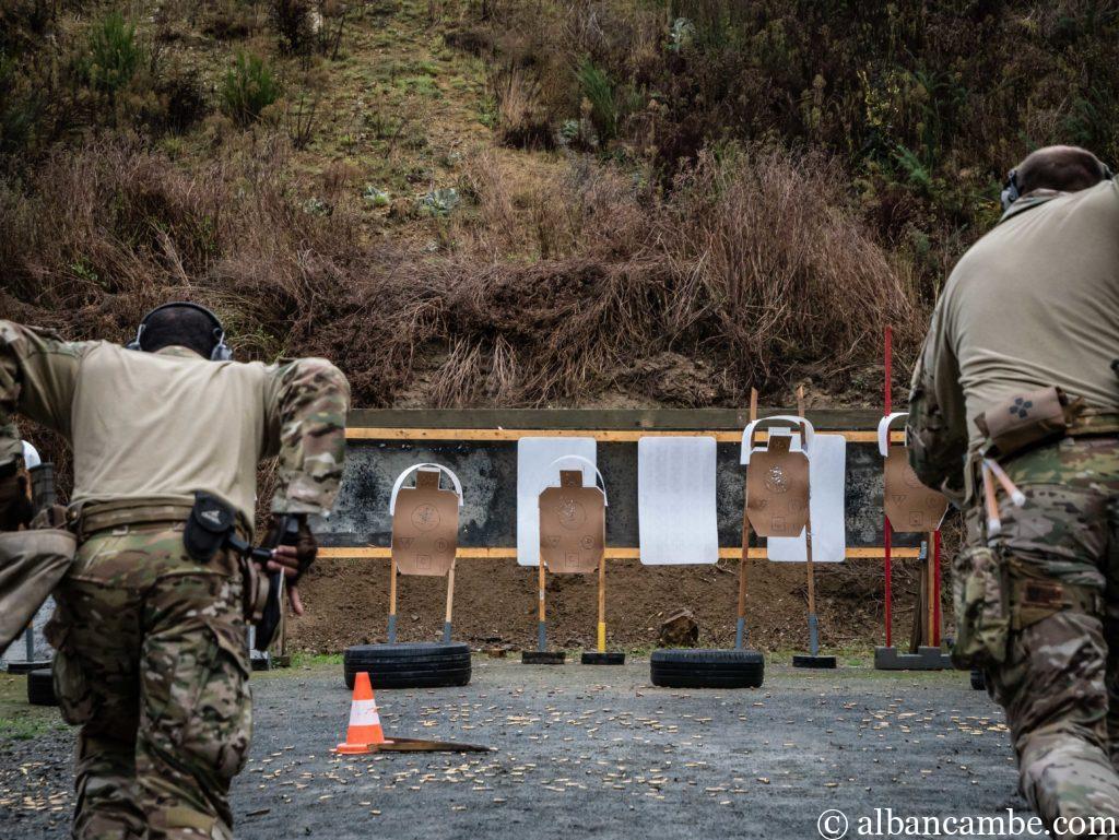 Parcours de tir arme de poing avec Instructor Zero.